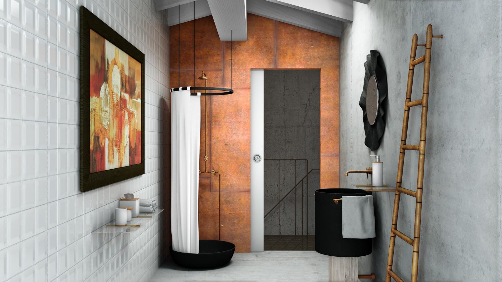 Il sapore del design industriale compro e vendo immobiliare loreto - Progetto bagno paderno ...